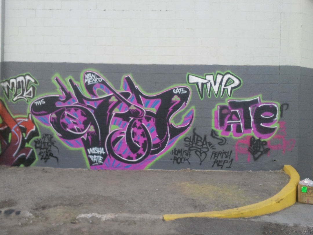Break Yo'Self Graffiti Art Show Weekend with PATE!