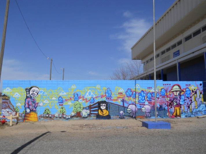 Shiprock, New Mexico Boys&Girls Club Mural