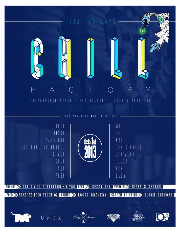Burque 1st Friday 2012 Jan