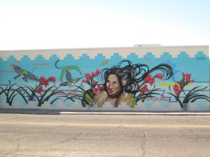 Painted by Nani Chacon, Jaycee Beyale, Warren Montoya, Patience Sabaque and SABA Located in Downtown Las Cruces, New Mexico