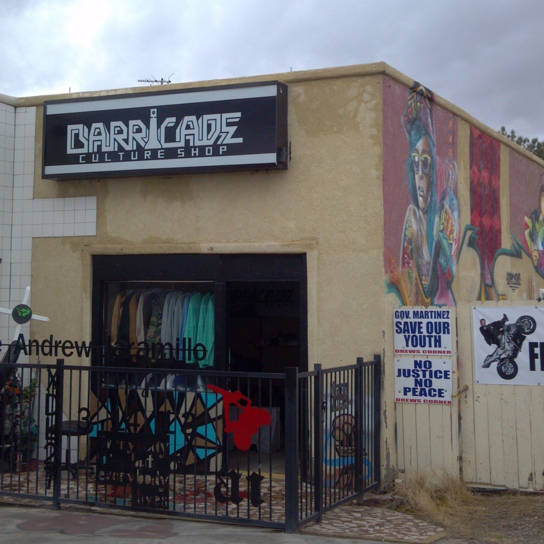 Barricade Culture Shop Las Cruces NM