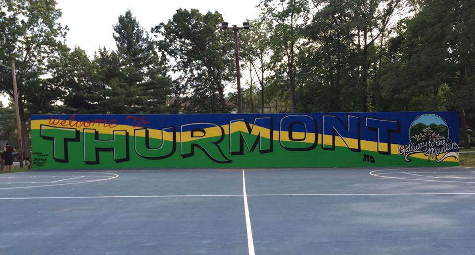 Thurmont Mural Vans Warped Tour